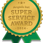 Gold Coat Flood Awarded Super Service Award from Angie's List