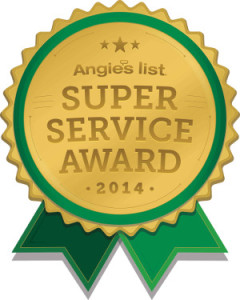 Water Damage Company Awarded Super Service Award from Angie's List