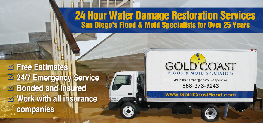 water damage restoration services Alpine CA